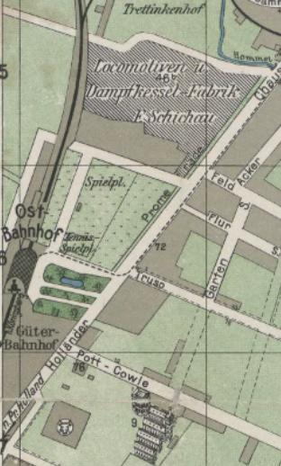 1907 neighborhood map